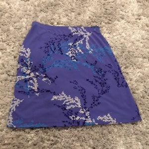 Periwinkle purple and blue skirt